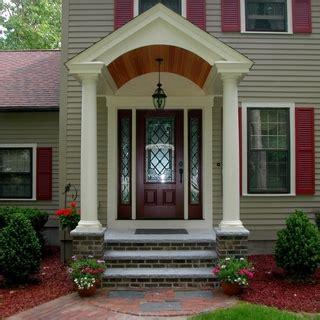 distinguished colonial front door front door steps