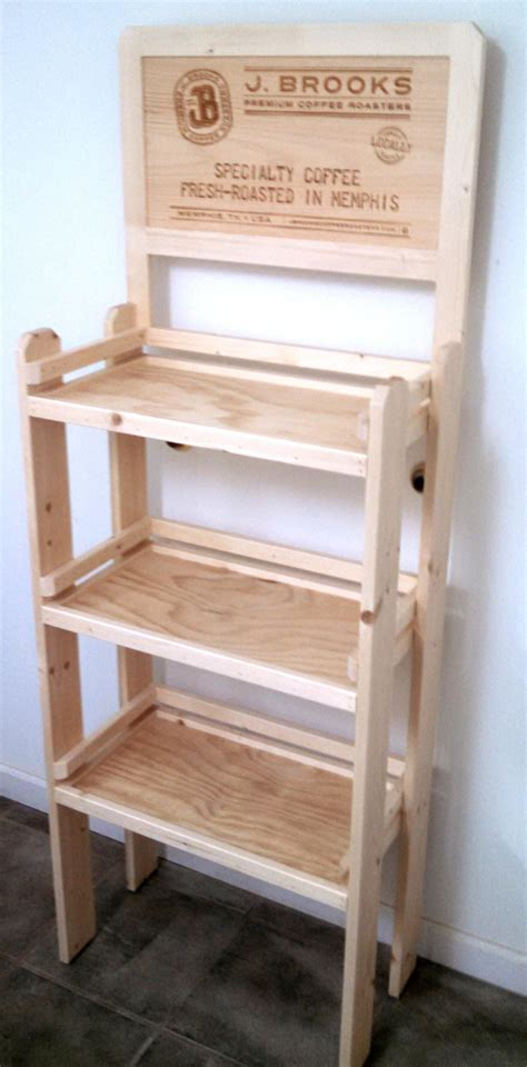 wood floor l with shelves wood display racks for retail cosmecol