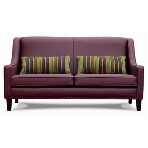 dark purple couch tono dark purple upholstered sofa from ultimate contract uk