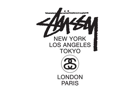 Kaos Stussy 1 By Ione Clothing stussy logos