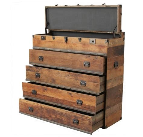 Steamer Trunk With Drawers by Http Www Zinhome Steamer Trunk Dresser Baylor