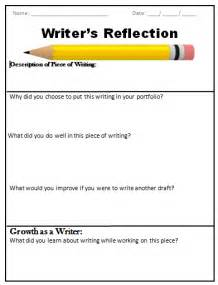 Portfolio Reflection Essay Exle by Leach Teach Writer S Workshop Portfolios