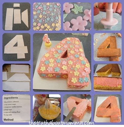 how to a three year how to make a number four birthday cake water cooler birthday