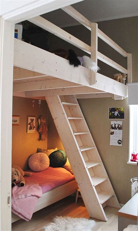 girl loft beds 20 awesome loft beds for small rooms house design and decor