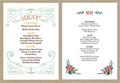 82 buffet style wedding menu pictures of pretty