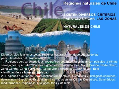 imagenes de las zonas naturales de chile zonas naturales de chile