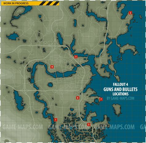 bobblehead quincy ruins guns and bullets magazines locations map fallout 4
