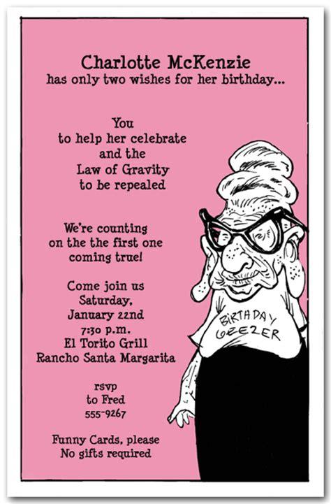 funny birthday party invitation wording dolanpedia