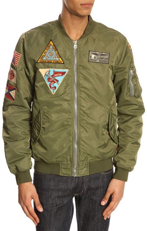 Jaket Pilot Bomber Scoot Army clare v haircalf fold clutch scotch and
