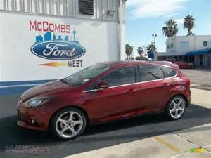 2013 Ford Focus Titanium Hatchback 2013 Ford Focus Titanium Hatchback In Ruby 157787