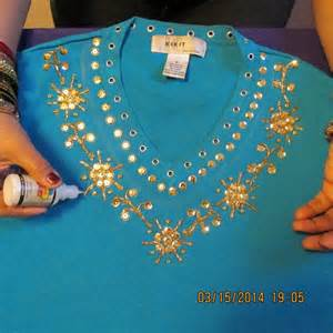 Beads Decoration Home by Gorgeous Shirt Decoration With Sequins Beads And Glitter
