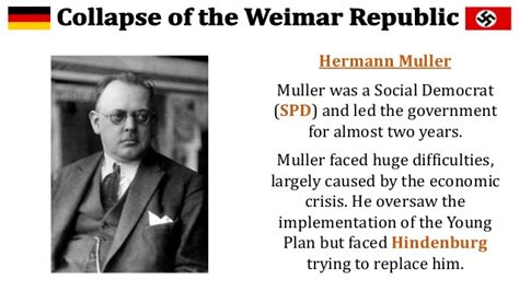 müller weimar collapse of the weimar republic bruning s chancellorship
