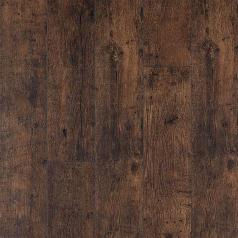 Pergo XP Rustic Espresso Oak 10 mm Thick x 6 1/8 in. Wide