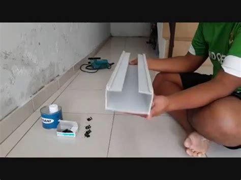 cara membuat gully hidroponik cara pembuatan gully hidroponik sistem nft dengan talang