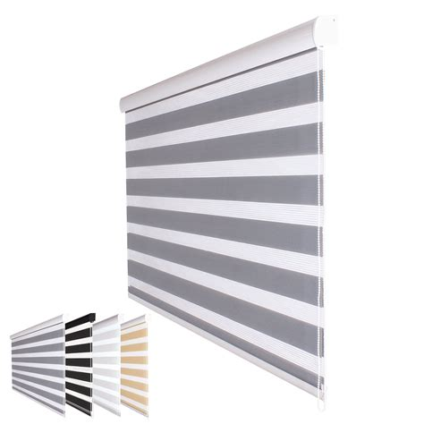 Sichtschutz Langes Fenster by Fensterdecor Duo Rollo Doppelrollo 160 Breit 180 Lang