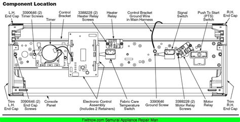whirlpool dryer schematic wiring diagram wed6400sw1 wiring