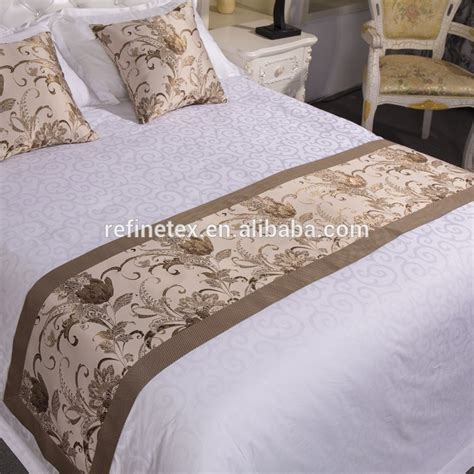 bed scarves and runners exquisite luxury bed runner for hotel bed scarves and