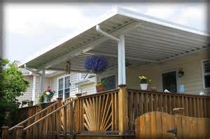 Build A Retractable Awning Residential Deck Awnings Residential Patio Canopies