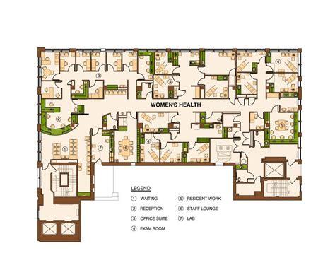 health center floor plan drexel women s health center bkt architects