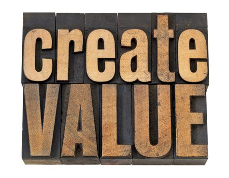 creating value the importance of creating value in creating value the importance of creating value in