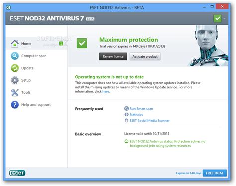 eset nod32 full version for windows 7 64 bit eset nod32 antivirus 7 beta review