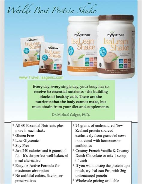Detox Meal Replacement Shakes by 510 Best Isagenix Images On Isagenix Shakes