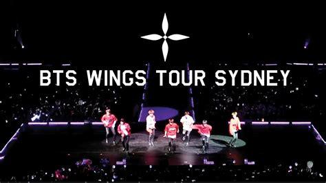 bts wings tour bts wings tour 2017 sydney australia 방탄소년단 호주