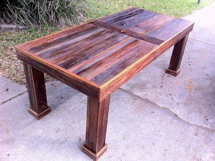 Reclaimed Wood Patio Table by Reclaimed Cypress Patio Table By Stephenschaad