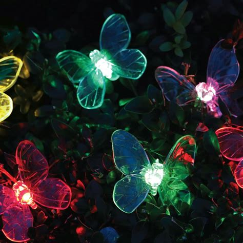 butterfly solar lights 10 butterfly solar lights buy at qd stores