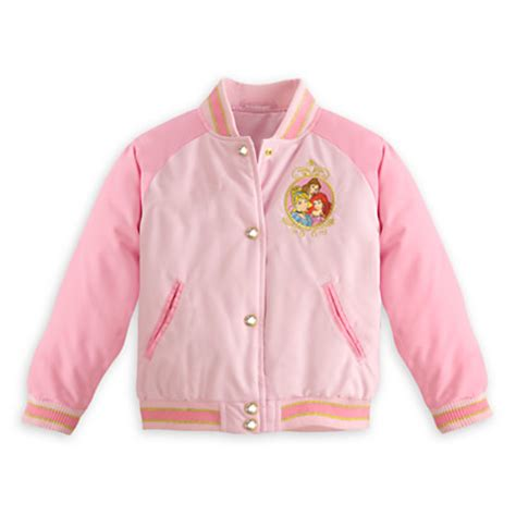 Jaket Ariel Baseball disney princess varsity jacket for clothing