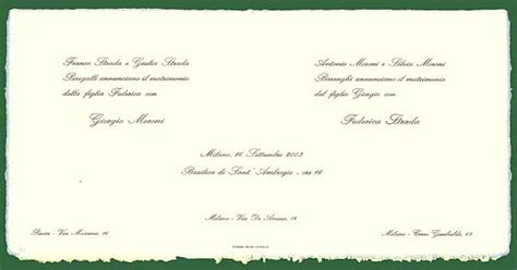 testi partecipazioni matrimonio partecipazioni matrimonio atto 1 176 tra inviti e frasi per