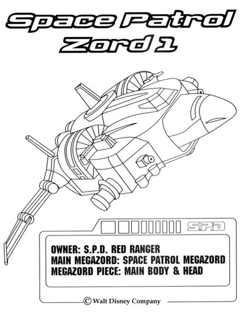 power rangers in space coloring pages space patrol zord 1 coloring pages hellokids com