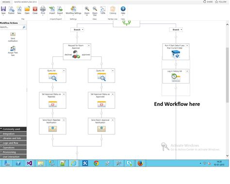 nintex sharepoint workflow nintex approval workflow with parallel branches stack