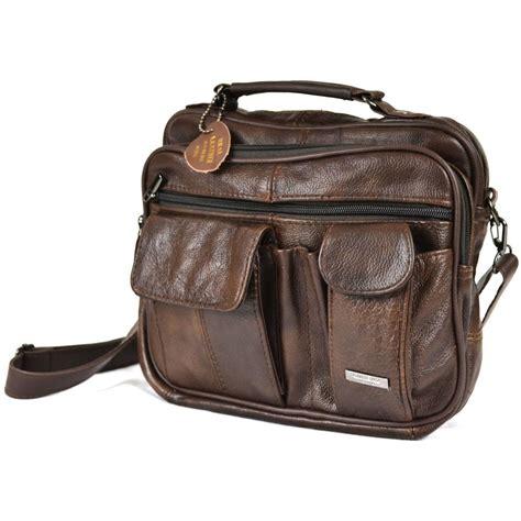 ebay bags mens leather manbag business travel shoulder bag womens