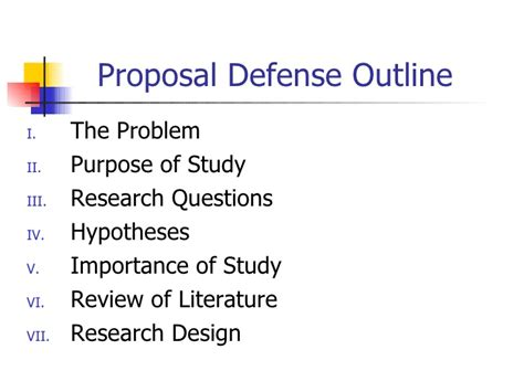 Outline For Thesis Presentation Durdgereport886 Web Fc2 Com Powerpoint For Dissertation Defense