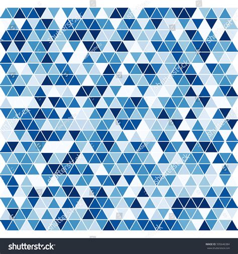 triangle pattern in stock triangle pattern vector background stock vector 595646384