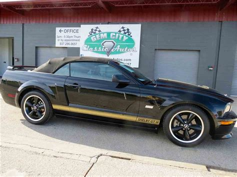Hertz Shelby For Sale by 2007 Ford Mustang Shelby Hertz For Sale Classiccars