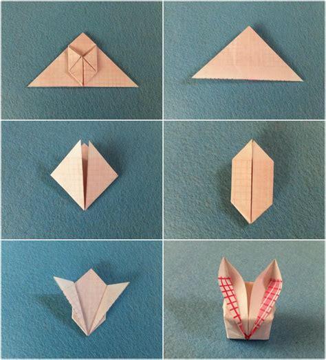 Origami Hase Faltanleitung by Origami Zu Ostern Falten 10 Einfache Und H 252 Bsche Ideen