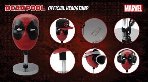 Topi Baseball Deadpool Dead Pool Deadpol 01 Keren Trucker Alfamerch 6 this deadpool headset stand is for holding hats and gaming goods