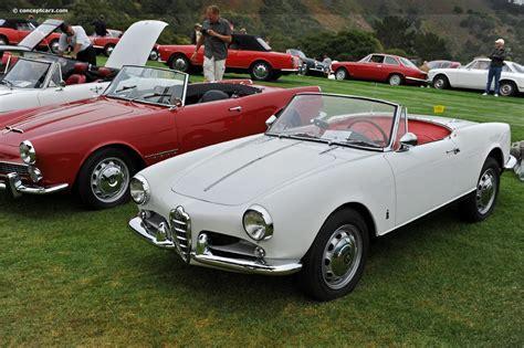 1962 Alfa Romeo by 1962 Alfa Romeo Giulietta Spider At The Concorso Italiano