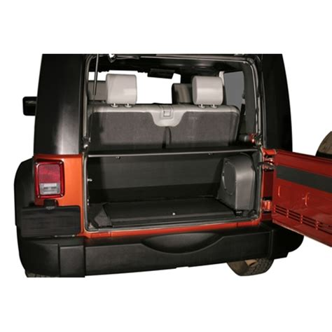 jeep tailgate storage all things jeep security tailgate enclosure by tuffy