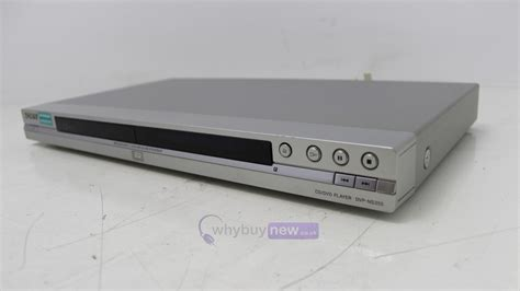 sony dvd player file format sony dvp ns355 cd dvd player whybuynew