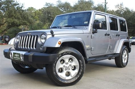 jeep wrangler unlimited 2015 new 2015 2016 jeep wrangler unlimited for sale cargurus