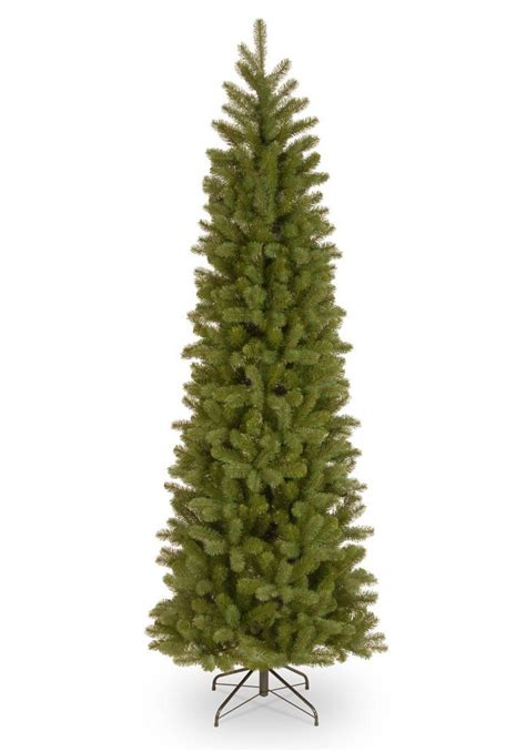 big 75 8 artificial christmas tree 8ft bayberry spruce pencil feel real artificial tree garden world