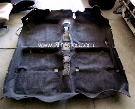 Honda Civic Eg Carpet jdm 92 95 civic eg6 sir black rhd carpet