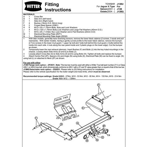jaguar s type tow bar wiring diagram k