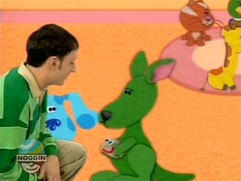 blues clues green green kangaroo blue s clues wiki fandom powered by wikia