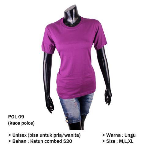 Kaos Polos Pol 09 by Kaos Polos Wanita Bandung Gudang Fashion Wanita