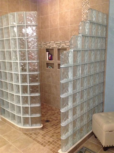 shower wall 7 tips to choose the right glass block shower wall thickness