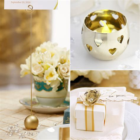 gold themes name oh so elegant ivory gold wedding theme confetti co uk